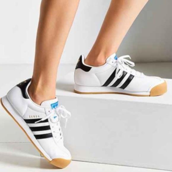 adidas Chaussures Samoa Perforated Gum Sole Basket Poshmark